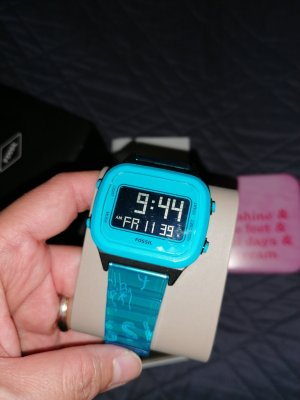 100% Authentic Fossil Digital Watch