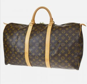 100% Authentic Preloved Louis Vuitton Monogram Keepall 50
