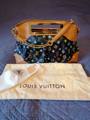 100%Authentic Preloved LV Black Multicolor