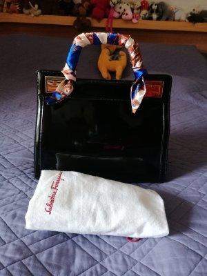 100% Authentic Preloved Salvatore Ferragamo Hand Bag (Like New)