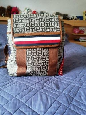 Tommy Hilfiger Laptop Backpack bronze-colored-grey brown