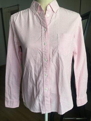100% Baumwolle Bluse mit Streifen