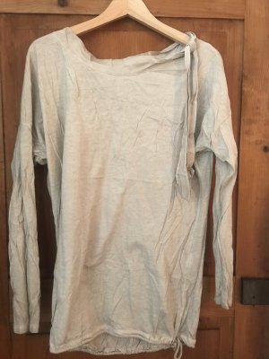 100% Baumwolle,oversize Pullover, Band, incognito/Petra R