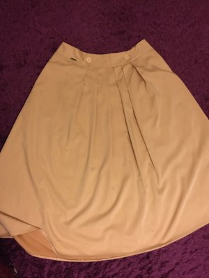 Maxi Skirt cream-nude cotton