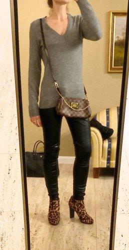100% Cashmere Luxus V-Neck Pullover von Eric Bompard Gr S (auch XS und M)