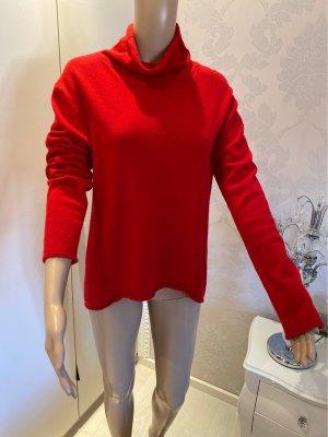 100% Cashmere Pullover der Marke Bailly Diehl in ROT Gr. L