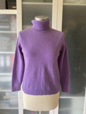 Pullover in cashmere lilla