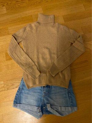 100% cashmere pullover mit Rollkragen Größe s
