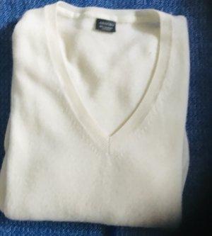 Cashmere Jumper white cashmere