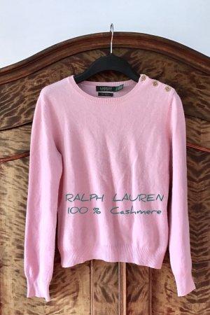 100% CASHMERE - VERSANDKOSTENFREI in Deutschland - Wunderschöner, warmer, kuschelig weicher Pullover von RALPH LAUREN - Selten getragen - wie NEU