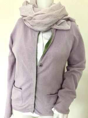 100%cashmere Weste❤️zartes lila