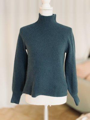H&M Premium Wełniany sweter Wielokolorowy Kaszmir