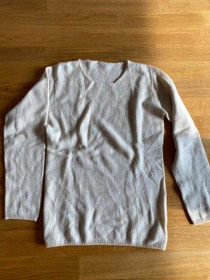 100 % Kaschmir Pullover in beige