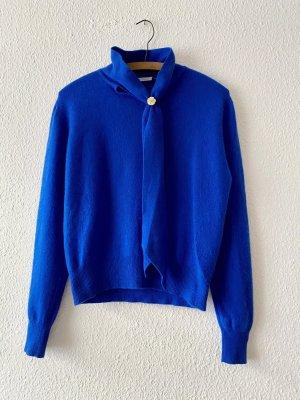 *100% Kaschmir* Wunderschöner pullover mit Schleife Königsblau