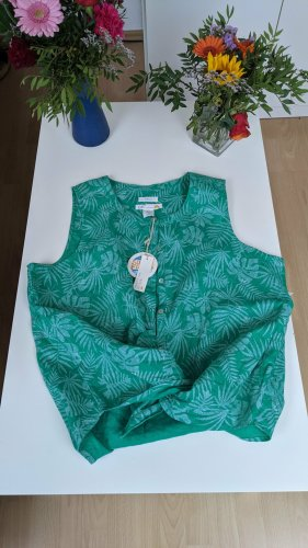 C&C California Blusa verde chiaro-verde bosco