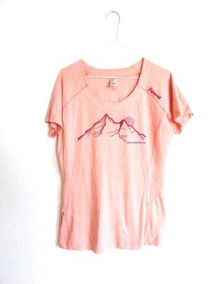 Decathlon T-shirt rosa pallido-rosa chiaro Lana