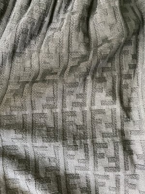 100% Original Fendi monogram Kleid Tunika Rock FF