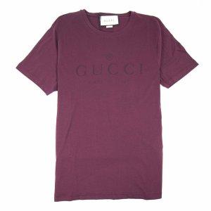 Gucci T-shirt violet coton