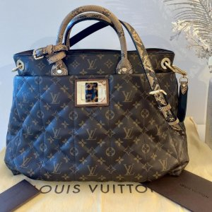 100% Original Louis Etoile Exotique GM Python Strauss