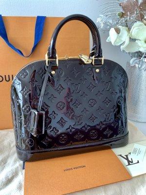 100% Original Louis Vuitton Alma PM Vernis Amarante mit Rechnung