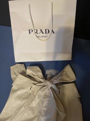 Prada Pantalone cargo crema Cotone