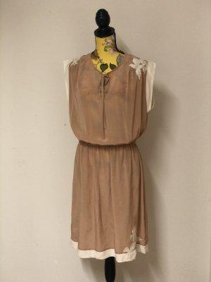 Bel Air Koronkowa sukienka różany-biały