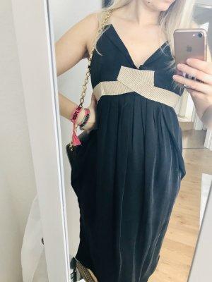 Boutique 9 Sukienka midi czarny-kremowy