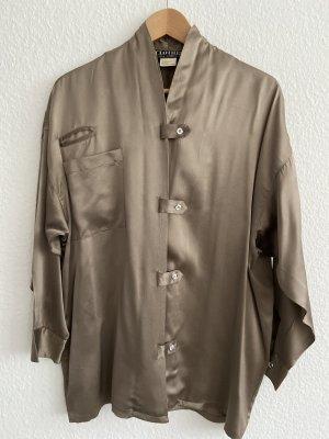 Clothes Jedwabna bluzka brąz