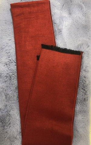 Sonstiges Écharpe en soie rouge foncé soie