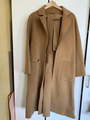 100% Wolle Übergröße Mantel