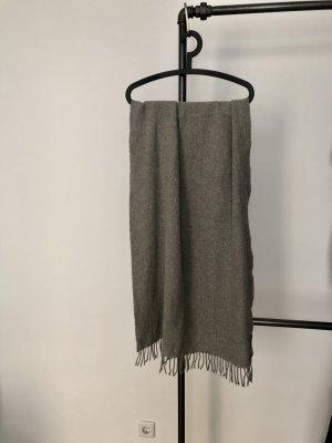 WHYRED Écharpe en laine gris-gris clair laine