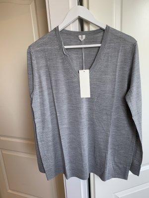 ARKET Wool Sweater light grey wool