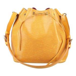 10109 Louis Vuitton Petit Noe PM Epi Leder Tassil Gelb Tasche, Handtasche, Schultertasche
