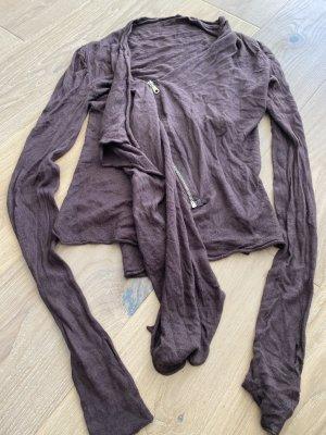 1060 Clothes Langarm Strickjacke gr. 32 34 Aubergine