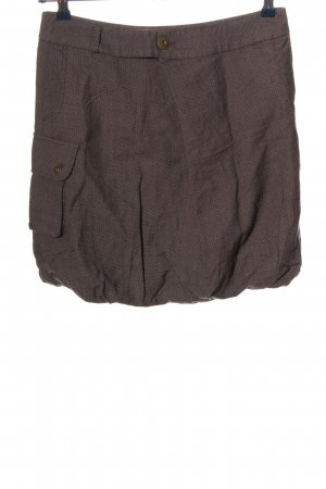 1060 Miniskirt brown flecked casual look