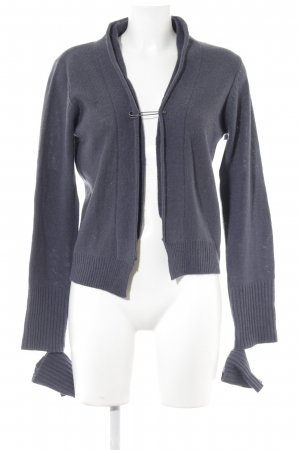 1060 Cardigan dark blue casual look