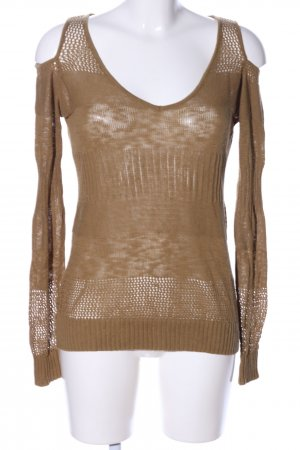 1060 Knitted Jumper bronze-colored casual look