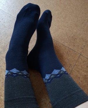 Legwarmers grey-blue