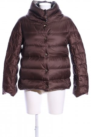 .12 puntododici Reversible Jacket brown quilting pattern casual look