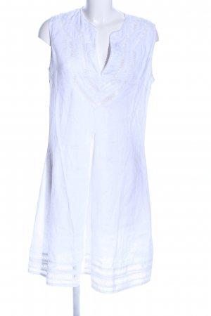 120% Lino Caftan white casual look