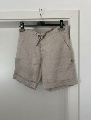 120% Lino Leinen Shorts Hose Sommerhose Kurze Hose