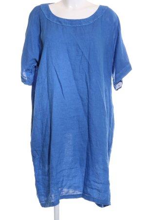 120% Lino Tuniekjurk blauw casual uitstraling