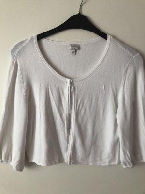 123 Paris Krótka kurtka biały