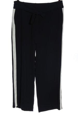 123 Paris Baggy broek zwart casual uitstraling