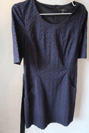 1.2.3 Paris Shortsleeve Dress blue-black