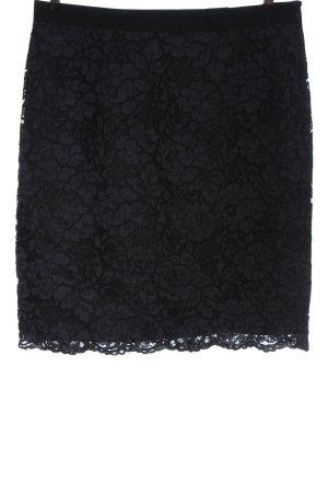 123 Paris Koronkowa spódnica czarny W stylu casual
