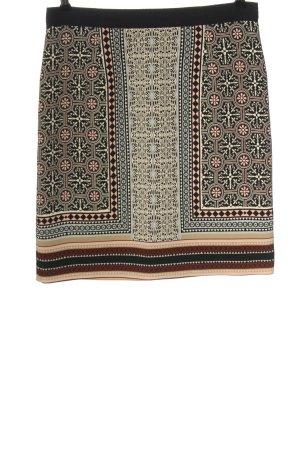 123 Paris Spódnica mini Abstrakcyjny wzór W stylu casual