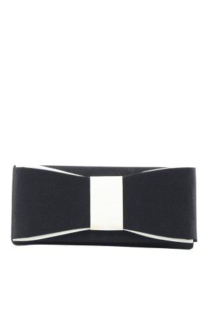 123 Paris Kopertówka czarny-biały Elegancki