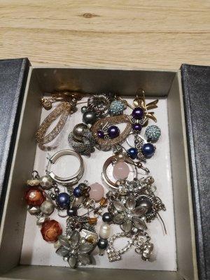 13 Paar Modeschmuck Ohrringe