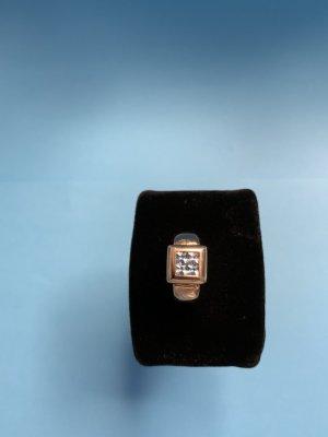 14 Karat Ring mit Aquamarin / Luxusschmuck
